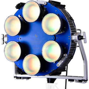 Creamsource SpaceX RBGAW Color LED Light, 1200W